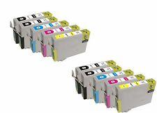 KIT 10 CARTUCCE COMPATIBILI PER EPSON STYLUS SX435W SX535WD SX620FW NERO COLORE