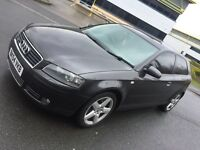2004 Audi A3 3.2 V6 Quattro *** Spares or Repairs *** Starts Drives MOT ***