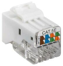 Keystone Module RJ45 Female Cat5e UTP Toolless Unshielded 100 MHz Goobay