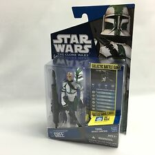 Star Wars The Clone Wars 2010 CW21 CLONE COMMANDER GREE Action FigureHasbroNew#3