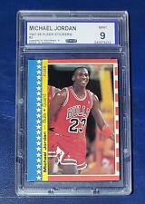 1987-88 Fleer Michael Jordan Sticker #2 Graded 9 CCG Custom Card Grading