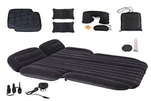 Icelus Inflatable Car Air Mattress with Back Seat Pump Portable Bed,Floating Bed