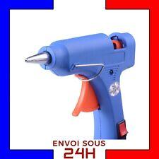 Pistolet à colle chaude thermofusible 20W DIY Bricolage Réparations glue gun FR