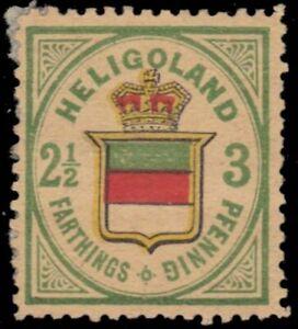 "HELIGOLAND 20Rii (Mi12Rii) - Coat of Arms ""1885 Berlin Reprint"" (pb41593)"