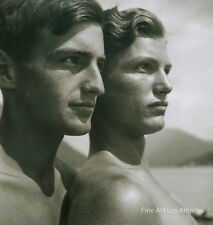 "Rudolf Koppitz Photo, ""Brothers"" 1920's"