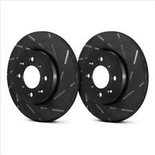 EBC USR7411 USR BlackDash Series Sport Slotted Vented Front Brake Rotors