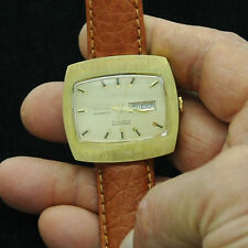 Large vintage ALPHA automatic watch - retro TV Screen design