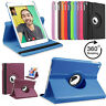 Leather 360 Rotating Smart Filp Case Cover Apple iPad Air Pro 10.5 Mini 10.2 New