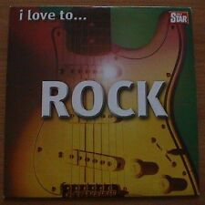 I Love To Rock (Daily Star Promo) Alice Cooper Stranglers Motorhead Adverts