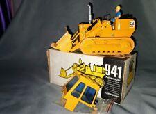 Bulldozer CAT 941 avec conducteur / Gescha / NZG / Conrad 1:24 neuf boite