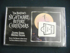 RENATO ZERO *TIM BURTON'S NIGHTMARE BEFORE CHRISTMAS* MC SEALED WDR 477705-4 SS