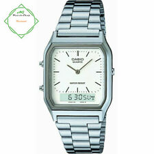 Casio Retro Collection Dual Time Men's Watch AQ-230A-7DBMQYES FREE SHIPPING
