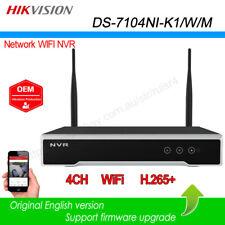 Hikvision OEM 4CH WIFI NVR H.265 HDMI VGA 1SATA VCA Network 4MP DS-7104NI-K1/W/M