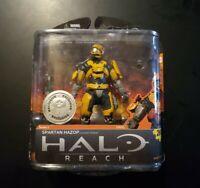 Mcfarlane Halo Reach Series 1 Toys R Us Exclusive Spartan Hazop Figure Unopened