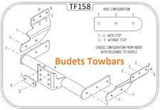 Ford Transit Van 2000 - 2014 - Tow Trust Fixed Flange Tow Bar