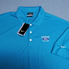 NIKE POLY GOLF SHIRT--XL--LONGMONT FORD--SUPER COLOR!-UNWORN!!--NEW!!TAGS!!
