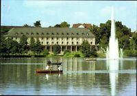 Postkarte AK PK Bad Salzungen Kurhaus am Burgsee Fotografie gelaufen 1983