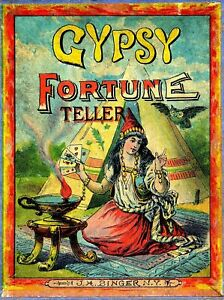 Gypsy Fortune Teller VINTAGE RETRO REPRODUCTION METAL TIN SIGN POSTER PLAQUE