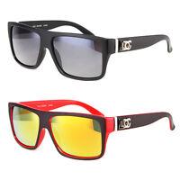 New DG Eyewear Square Designer Sunglasses Shades Mirrored Revo Lens Men Women