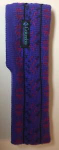 Vintage Purple Columbia Winter Headband/ Earband