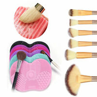 Silicone Makeup Brush Cleaner  Wshing Scrubber Board Cleaning Mat Cosmetic Pad