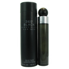 360 Black by Perry Ellis for Men 3.4 Ounce EDT Spray Body Fragance Smell Skin