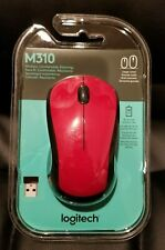 Brand New - Logitech M310 Wireless Optical Mouse - RED