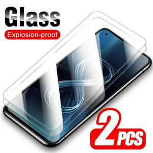 2x ASUS Zenfone 8 Zenfone8 Flip ZS672KS ZS590KS Tempered Glass Screen Protector