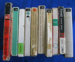 Vintage Reel To Reel Tapes: Job Lot Of 10 - Lonnie Donegan/Buddy Holly/Melanie