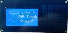 I2c Y Serial 128x64 Display Y 16 forma Teclado Delantero Pack Para Arduino, RPI Azul
