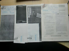 Motorola 8500X Cell phone user manual and 3 more manuals