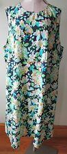J.jill Dress 3x Floral Angled Hem
