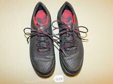 ECCO Natural Motion Black/Red Golf Shoes- Size 46/12 US Extra Width GC230