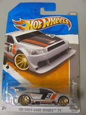Mattel Hot Wheels Car Silver Amazoom HW Video Game Heroes '11 241/247