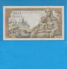1000 Francs Déesse Déméter   du 29-4-1943 Alphabet    F.4927