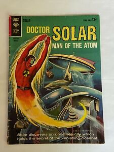 Doctor Solar, Man of the Atom #7 March 1964, Western, Gold Key 1962 Series