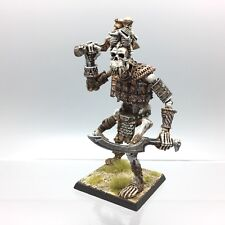 WARHAMMER AGE OF SIGMAR TOMB KINGS UNDEAD SKELETON BONE GIANT METAL PAINTED