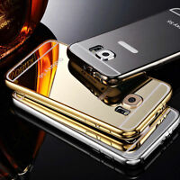 NEW Luxury Aluminum Ultra-thin Mirror Case Cover for Samsung Galaxy S6 , S6 Edge