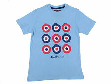 Ben Sherman Boys T-Shirt Blurred Target Tee Ages 6 Years up to 15 Years