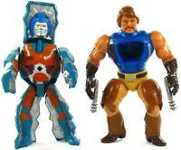 MOTU Vintage Rio Blast & Rokkon Lot of 2 Masters of the Universe He-Man