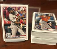 2020 Bowman Paper Baseball Rookies  ** You Pick ** Only RC - Combined Shipping