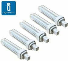 Pack 5 Bombillas Aigostar 183653 LED PLC 2U 15W Bombilla LED Maiz G24 6400K [Cla