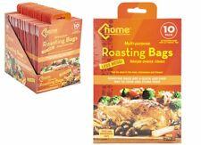 3 Pack Jumbo Taille de la Turquie grillage Sacs Four Micro-Ondes Cuisson Viande Poulet Poissons