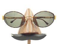 Vintage Vogue VO 3229-S 328 Gold Tortoise Metal Oval Sunglasses FRAMES ONLY