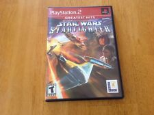 Star Wars: Starfighter [Greatest Hits]  (Sony PlayStation 2, 2002)