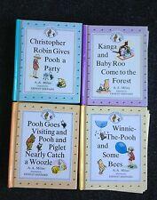 4 The Original Winnie the Pooh Treasury Books Dutton A.A. Milne Piglet Kanga Roo