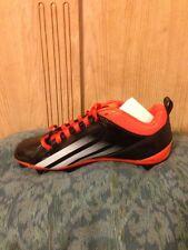 Adidas Lightning D 5/8 Men's Football Cleats/Orange & Black/ Size 8