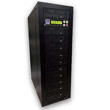 M-Tech 1-10 PRO CD/DVD  Stand Alone Tower Duplicator Internal 500GB LITEON