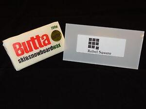 Butta Original Ski & Snowboard Wax 200g + FREE Large Scraper & Base Guide