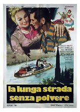 Isa Miranda LA LUNGA STRADA SENZA POLVERE manifesto 2F originale 1978